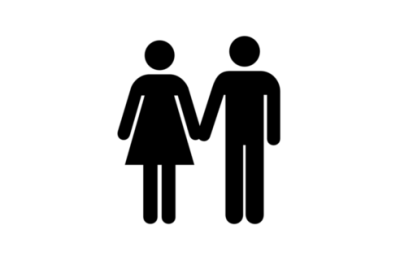 Traditional marriage man-and-woman icon  2