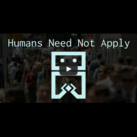 Human need not to apply
