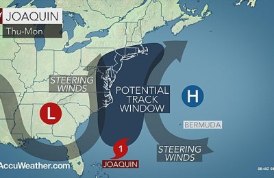 Joaquin map wed thru mon