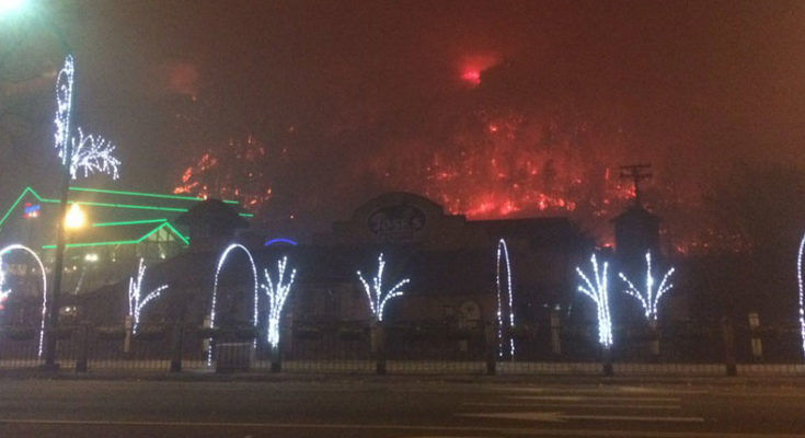 Image result for gatlinburg fire